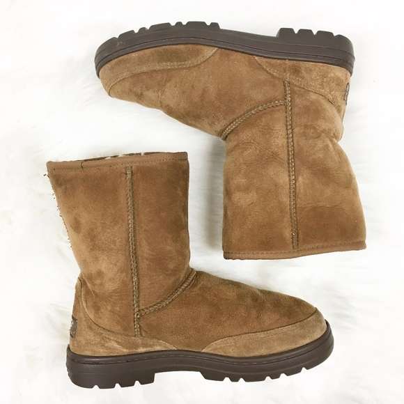 sale retailer d0072 7d33a ugg | ultra short revival boots ankle booties sz 7